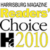 2010 Harrisburg Magazine Readers Choice